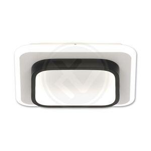 LED21 Přisazené LED svítidlo lustr GALAXIS Falcon s RF ovladačem 35W, CCT + stmívatelné, černé V6095